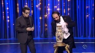 Luciano Pavarotti canta con Bustamante