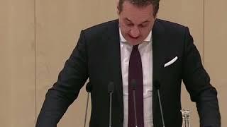 """HC Strache: """"Herr Kern, schämen Sie sich eigentlich nicht?"""""""