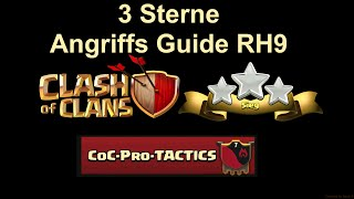 Clash of Clans | 3 Sterne Angriffs Guide RH 9 | [Deutsch | German] Teil 1 Intro | Kill Squad