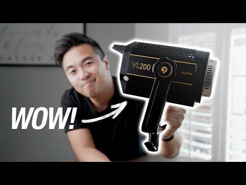 Godox VL200 blew my mind...