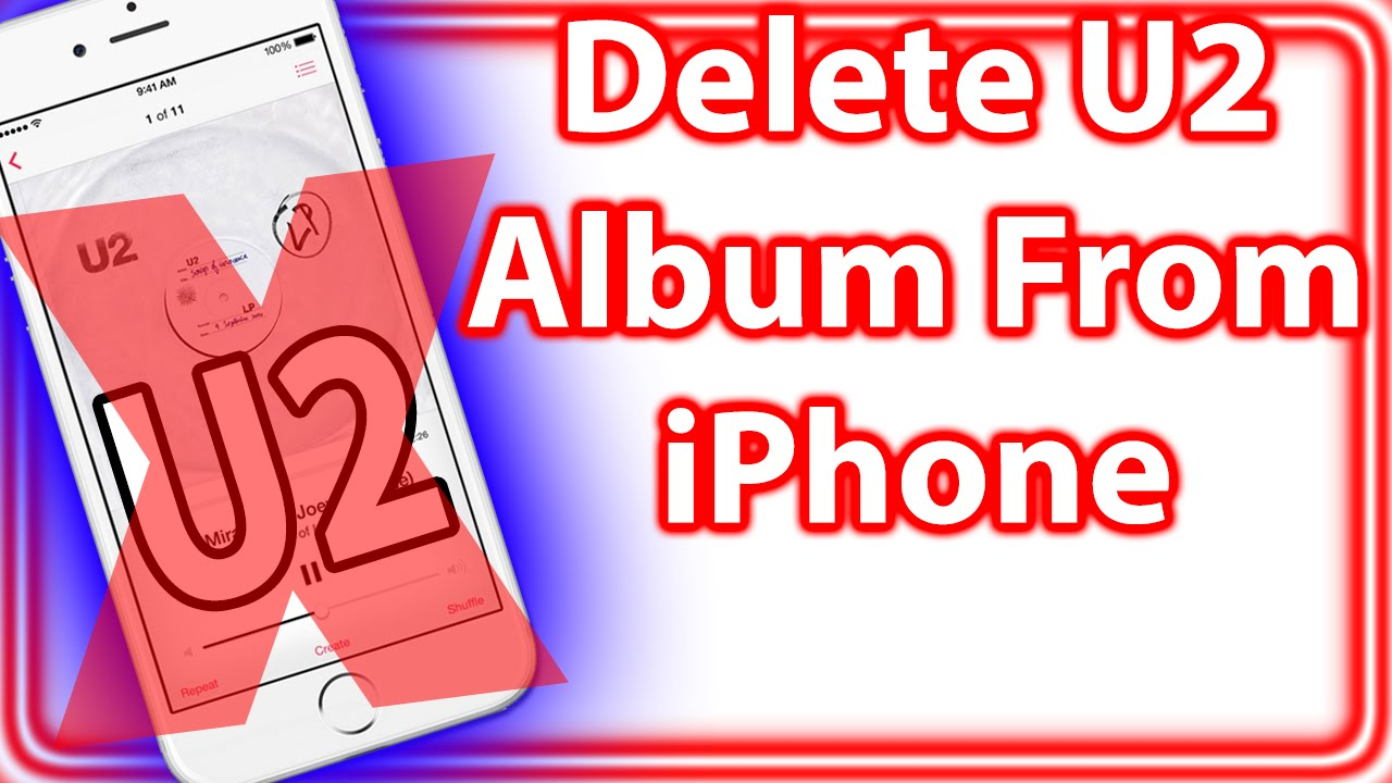 how to delete an album on iphone how to remove amp delete u2 album from iphone 19962