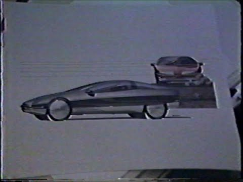 General Motors Designers Demonstrate Sketch Techniques - 1983?