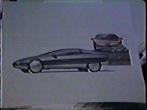 General Motors Designers Demonstrate Sketch Techniques - 1983?