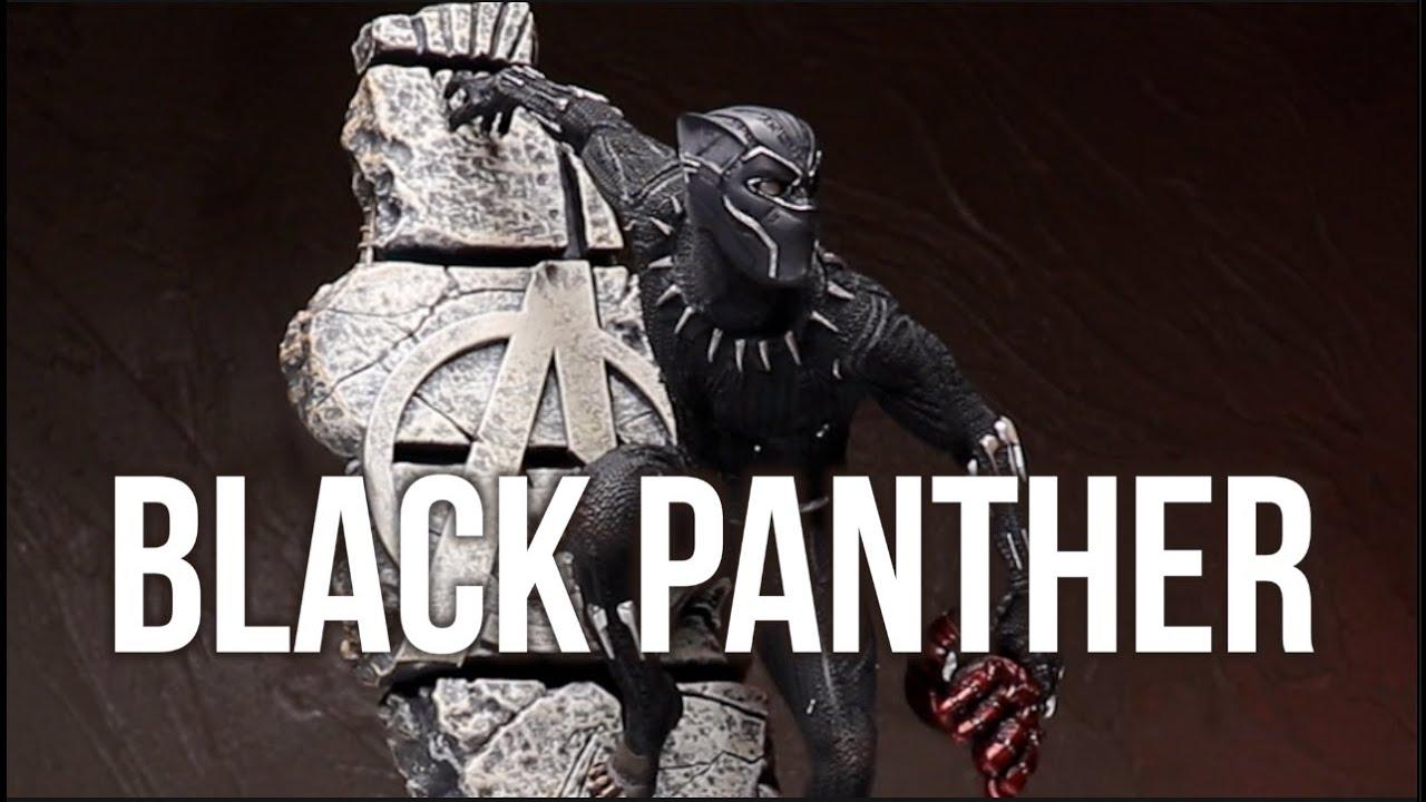블랙 카리스마의 끝판왕! 어벤져스 엔드게임 아이언스튜디오 1/10 블랙팬서 피규어 스테츄 리뷰 Black Panther Statue Review 꼭 스파이더맨 같기도하네