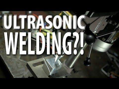 DIY Ultrasonic Welder?! (Answer: NO)
