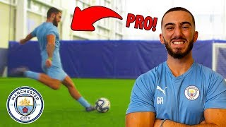 I Played For Manchester City For 24 Hours.. IM A PRO FOOTBALLER