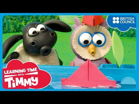 Lomba perahu [Boat Race] | Learning Time With Timmy