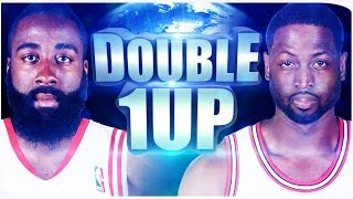 JAMES HARDEN & DWYANE WADE ● DOUBLE 1UP #1 ● NBA 2K17