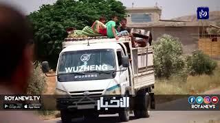 استقبال جرحى سوريين لمعالجتهم في المستشفيات الأردنية - (1-7-2018)
