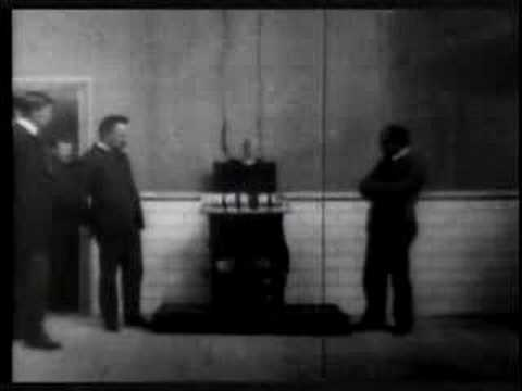 execution by electric chair cheap theater chairs of czolgosz, with panorama auburn prison (ediso - youtube