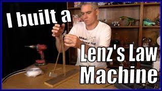 Lenz's Law Demonstration Machine of Science