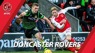 Fleetwood Town 0-0 Doncaster Rovers | Highlights