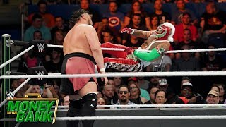 Rey Mysterio grounds Samoa Joe with aerial attacks: WWE Money in the Bank 2019