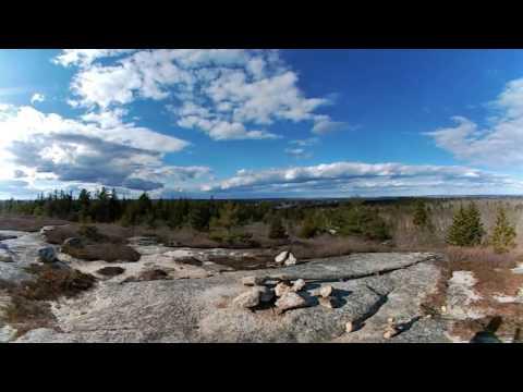 360° - Blue Mountain Hiking Trail, Halifax, Nova Scotia