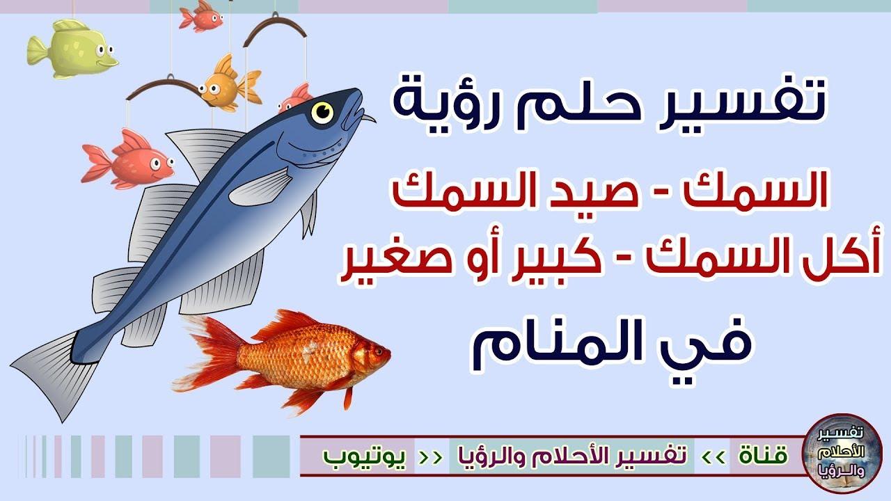 تفسير حلم السمك أو رؤية صيد السمك في المنام لابن سيرين Youtube