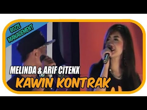 Melinda & Arif Citenx - Kawin Kontrak [Official Music Karaoke Video]
