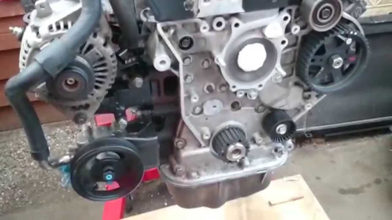 Alternator Power Steering Pump Installation Kia Youtube