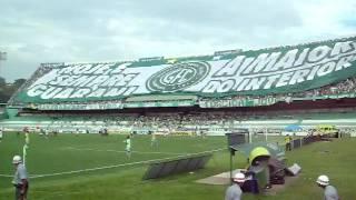 O maior bandeirão do Interior é nosso! Guarani x Juventude 29/11