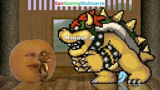 Tedi The Robotic Teddy Bear And Annoying Orange VS Bowser And Rainbow Dash In A MUGEN Match / Battle