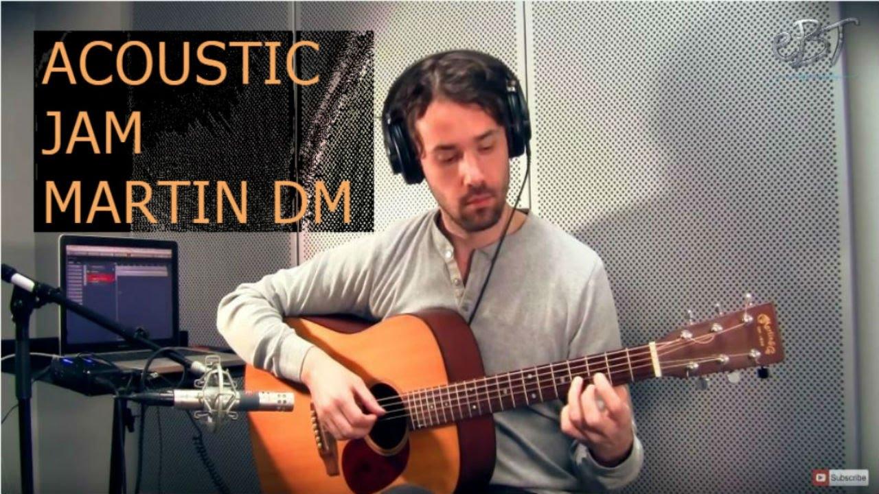 martin dm guitar review