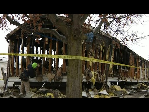 Imlay City mobile home fire: 3 children killed, 4 people critically hurt