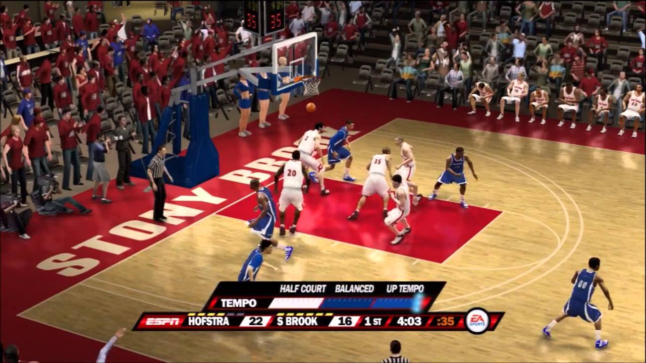 Ncaa Basketball 10 Dynasty Mode Ep 1 First Game Youtube