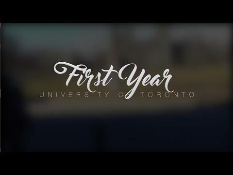 University of Toronto: First year