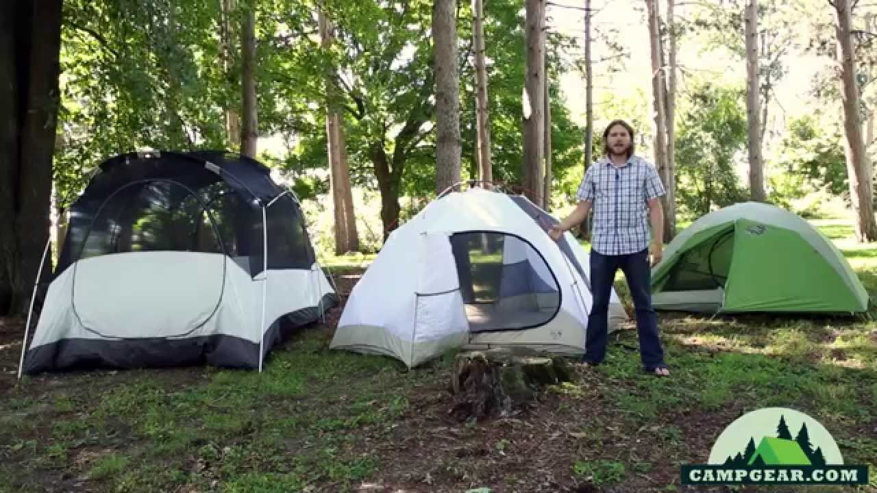 Tent Types by C&gear.com & Tent Types by Campgear.com - YouTube