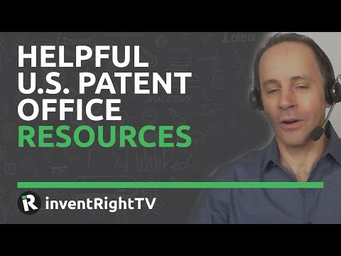 Helpful U.S. Patent Office Resources