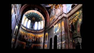 Мужской монастырь  Новый Афон  Абхазия(http://youtu.be/bZleSShgBas Ново-Афонский Симоно-Кананитский монастырь — мужской монастырь, расположенный у подножия..., 2013-10-18T19:23:34.000Z)