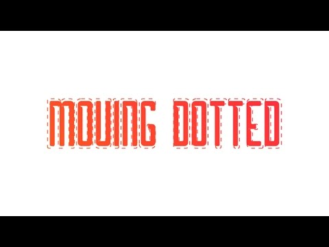 Moving Dotted/Dashed Lines | After Effects Tutorial 2017