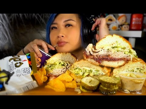 ASMR IKES SANDWICHES & CHIPS  *no talking* l vlogmas 2018 day 13