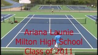 Ariana Launie tennis video.wmv