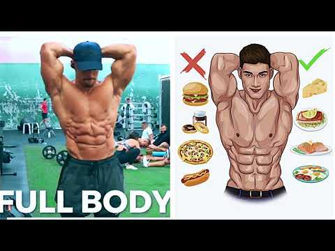 FULL BODY WORKOUT | ABS,Chest,Back,Arms,Shoulders,Legs