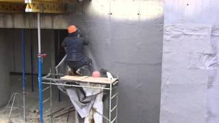Бесшовная гидроизоляция стен подвала(Работаем по всей России., 2013-10-08T12:43:13.000Z)