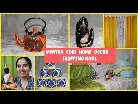 Myntra EORS Home Decor Shopping Haul | Myntra EROS|SuperStyl