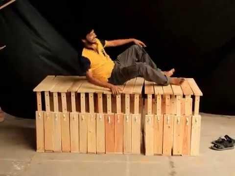 Multifunctional transformable metamorphic furniture