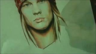 Speed Drawing: Axl Rose