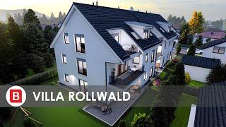 Villa Rollwald: 9 exklusive & provisionsfreie Neubau-Eigentumswohnungen (Fertigstellung Herbst 2021)