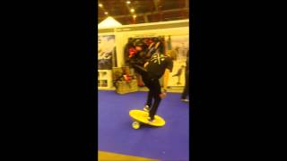 Billy Morgan @ The Ski and Snowboard Show 2014