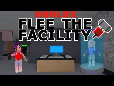 RoBlox: Flee the Facility (BETA) / RUN! HIDE! ESCAPE! / Run from the Beast!