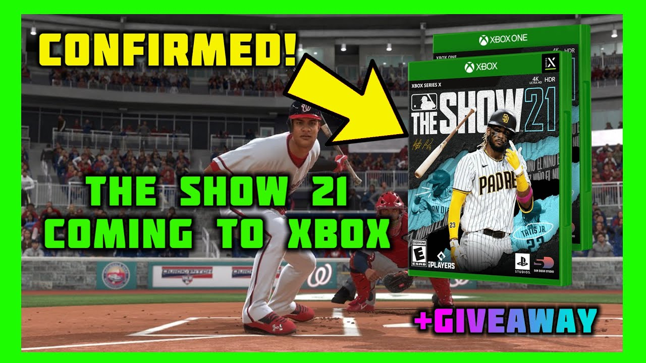 MLB The Show 21 is CONFIRMED coming to Xbox!