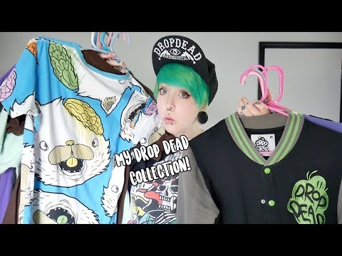 My Drop Dead Clothing Collection!
