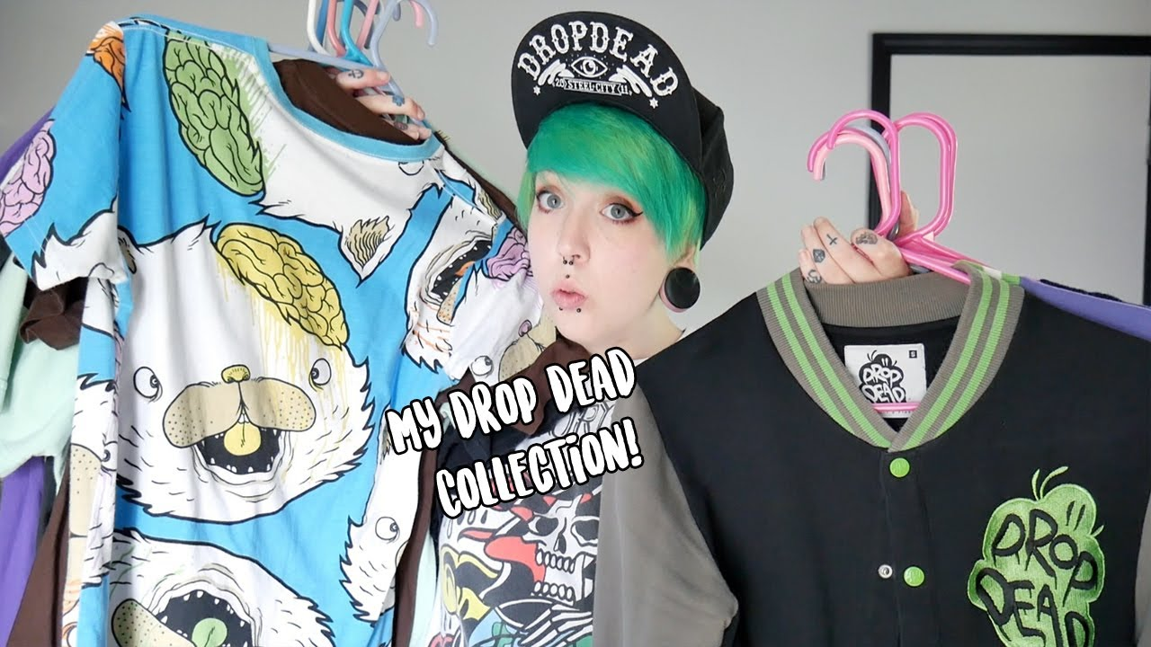 My Drop Dead Clothing Collection! - YouTubeDrop Dead Clothing Ghost