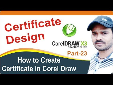 Certificate Design in CorelDraw Tutorial Part-22 in Nepali | Learn Corel Draw in Nepali | CorelDraw
