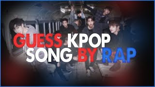 KPOP GAME: GUESS KPOP SONG BY RAP