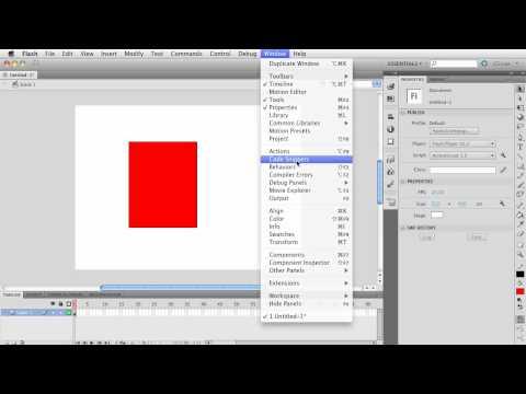 Flash CS5.5: Code Snippets