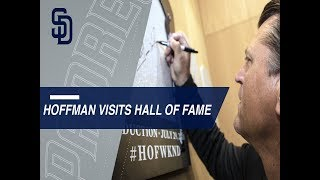 Hoffman thrilled to be visiting the Hall of Fame