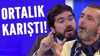 Rasim Ozan ve Abdulkerim Durmaz'ın tartışması derbinin önüne geçti