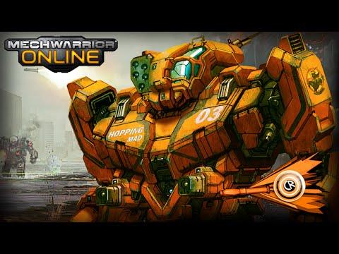 MechWarrior Online - Grasshopper Gameplay - YouTube